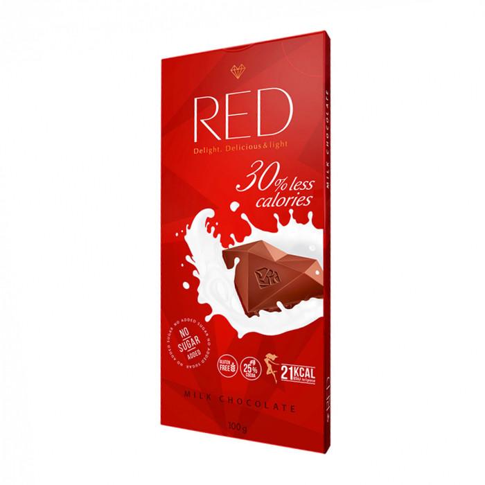RED - MLIEČNA čokoláda - 100g