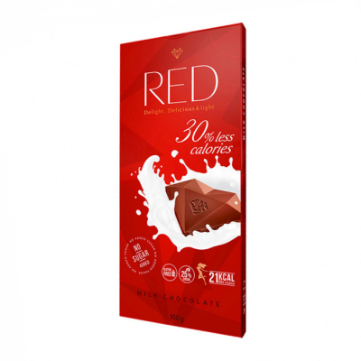 RED - milk chocolate