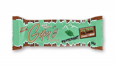 Gams protein bar - Pepermint