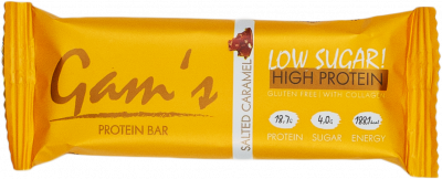 Gam´s protein bar - Salted Caramel