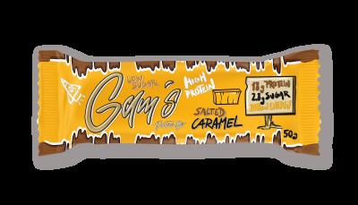 Gam´s proteínová tyčinka s kolagénom - slaný karamel 50g